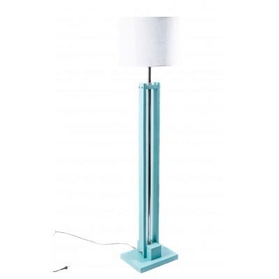 Lampa podłogowa CLASSIC w miętowym kolorze /HANDMADE/
