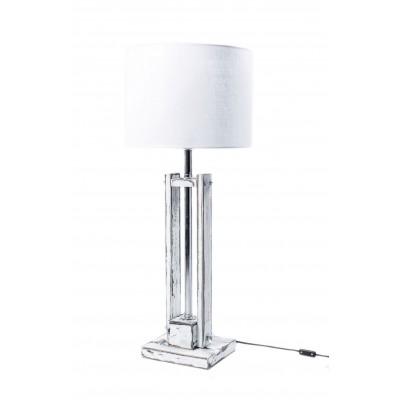 Lampa CLASSIC SMALL biała przecierana /HANDMADE/