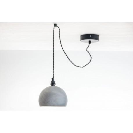 Lampa pająk TESTER1 LP/ BETON/CZARNY