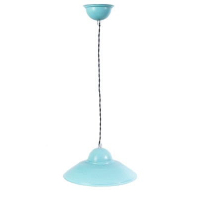 Lampa LOFTOWA wisząca BEA w kolorze miętowym
