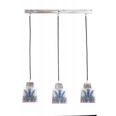 Lampa PROWANSALSKA wisząca SONOMA LAWENDA 3L