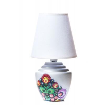 LAMPKA CERAMICZNA - FOLK
