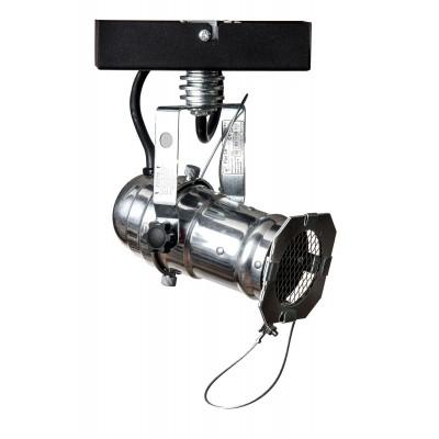 Reflektor DRAGON 1-PKT/SILVER PLAFON