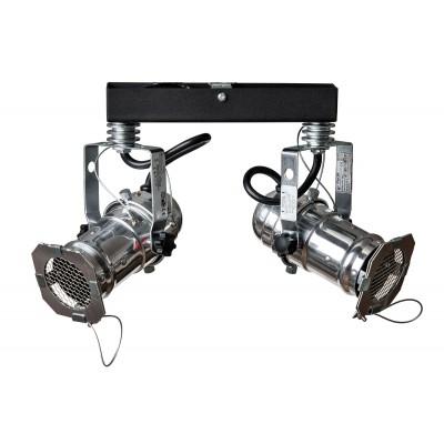 Reflektor DRAGON 2-PKT/SILVER PLAFON