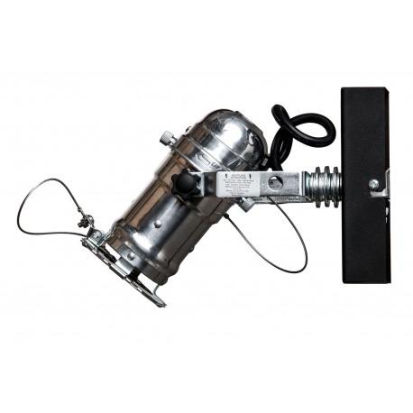 Reflektor DRAGON 1-PKT/SILVER KINKIET