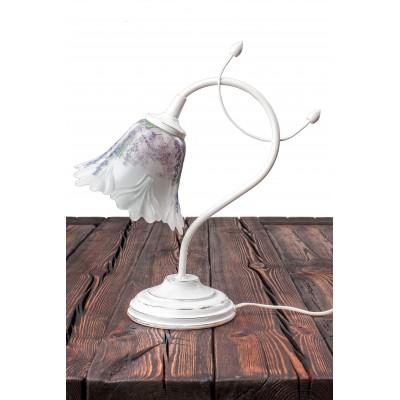 Lampka stołowa FLEUR w prowansalskim stylu