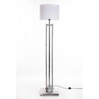 Lampa podłogowa CLASSIC biała przecierana