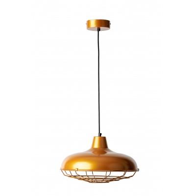 Lampa loft złota