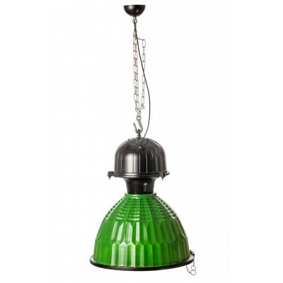 Lampa loftowa ASSIA INDUSTRIAL ZIELONO-MIEDZIANA /HANDMADE/