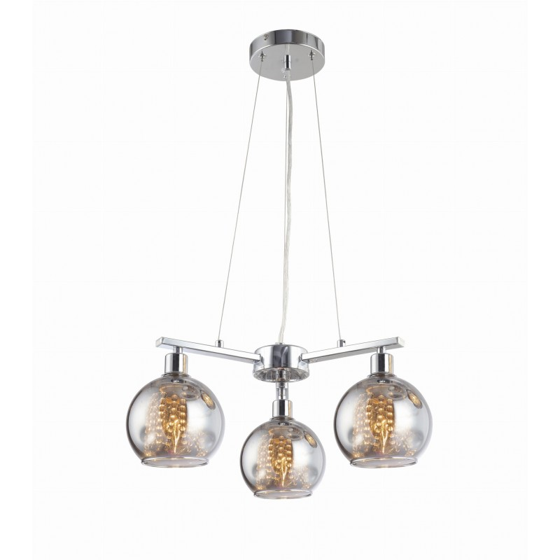 Lampa wisząca kryształowa Kaliope 3L