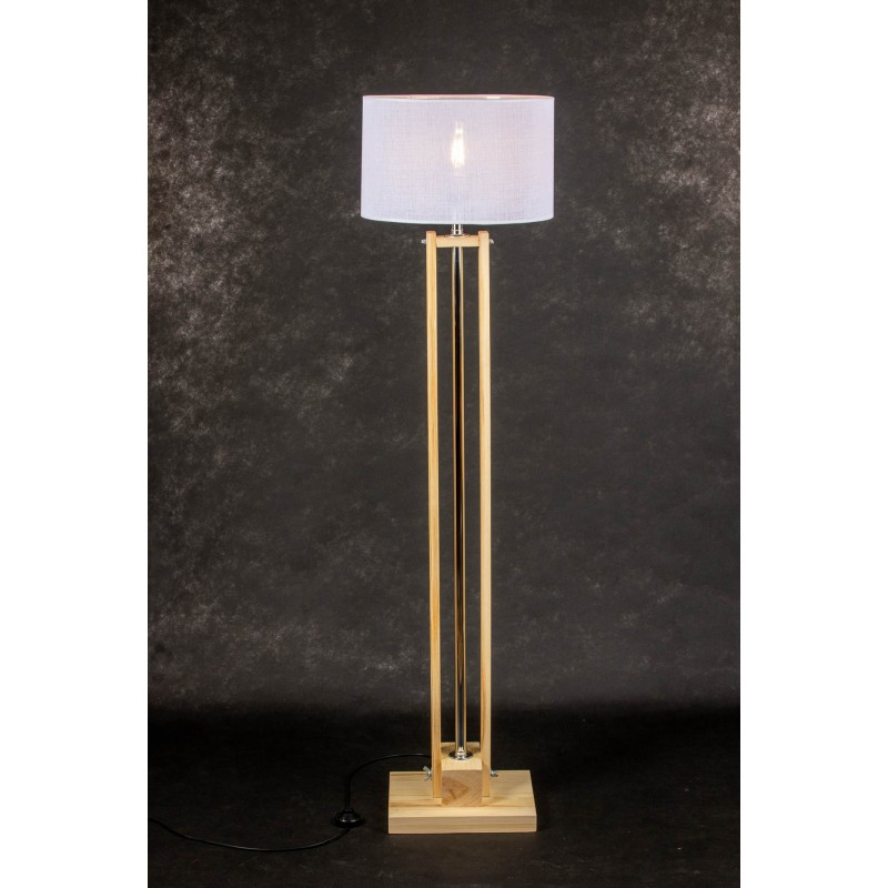 Lampa podłogowa CLASSIC Natural/HANDMADE/WHITE
