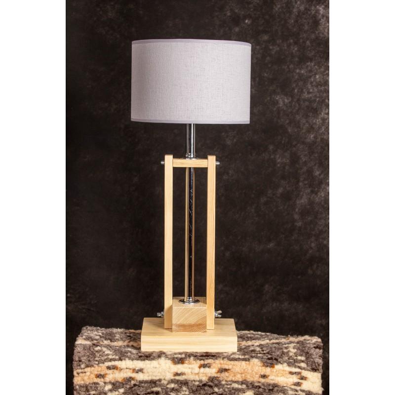 Lampa CLASSIC GABINETOWA NATURAL /HANDMADE/WHITE