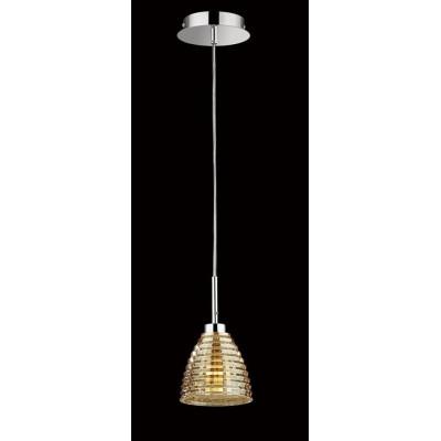 Lampa wisząca nowoczesna BETTY GOLDEN GLASS 1L
