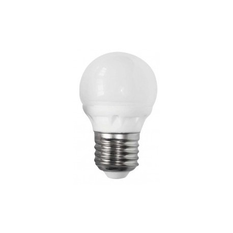 Żarówka LED E27 4W Kulka barwa ciepła