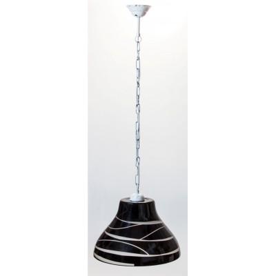 Lampa wisząca BELL CZARNA ŁAŃCUCH