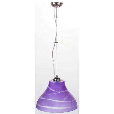 Lampa wisząca BELL FIOLETOWA