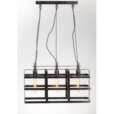 lampa wisząca loftowa klatka