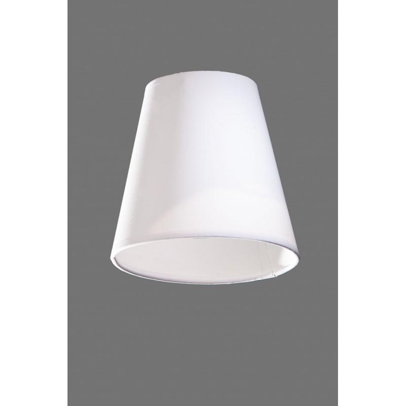 ABAŻUR STOŻEK BIAŁY e14 abażury dla lamp materiałowe stożek