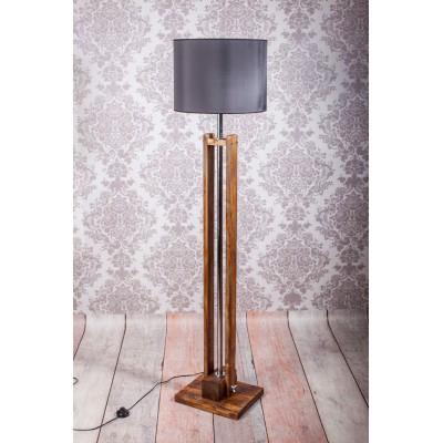 Lampa podłogowa CLASSIC brown /HANDMADE/