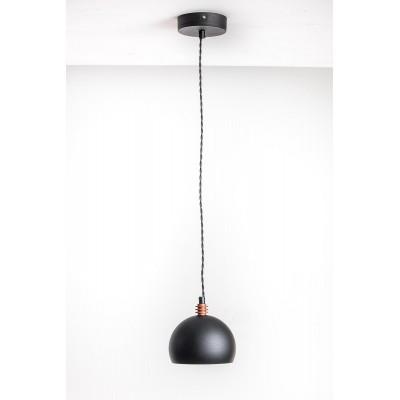 Lampa wisząca TESTER 1L /CZARNA/CZARNY